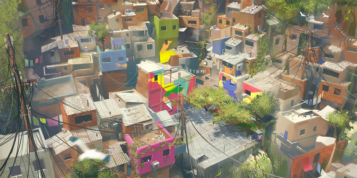 Visualising the Favela - Concept