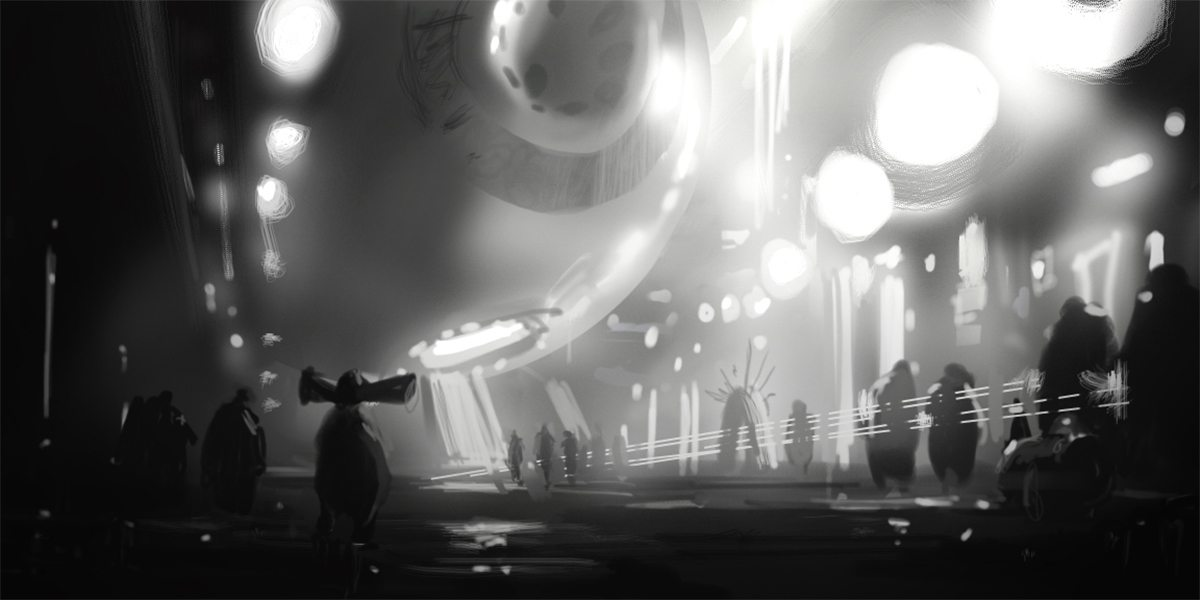 Concept - Leaving the Vogons' HQ