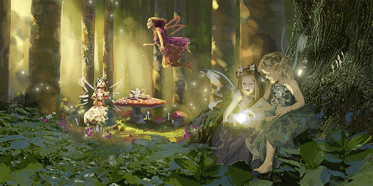 Concept Forest Fairies