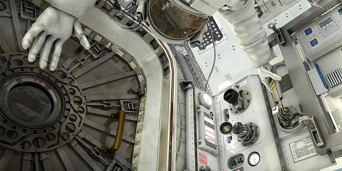 Interior Spacecraft
