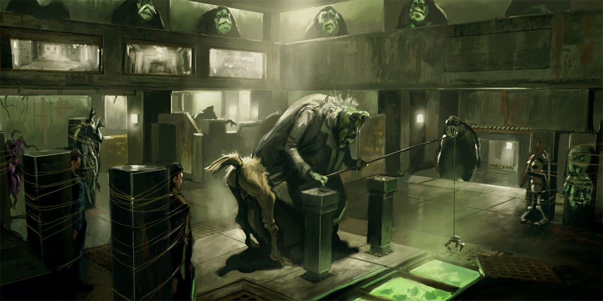 Concept - Inside the Vogons' HQ
