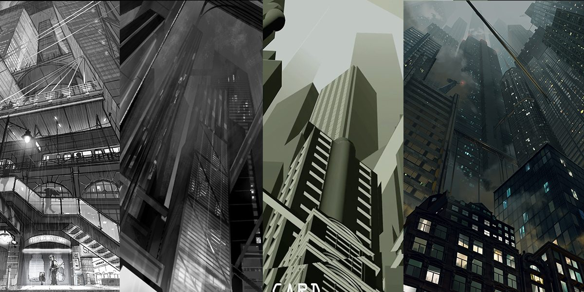 DIGITAL MATTE PAINTING - FROM SKETCH TO FINAL
