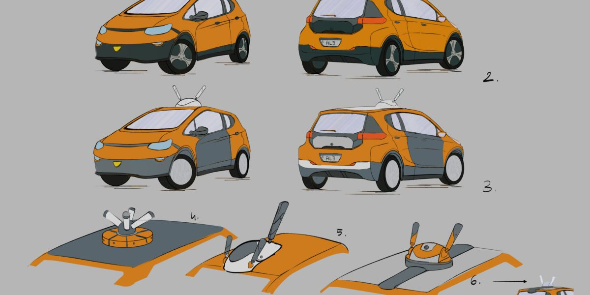 Pam's Lyft Car - Concepts