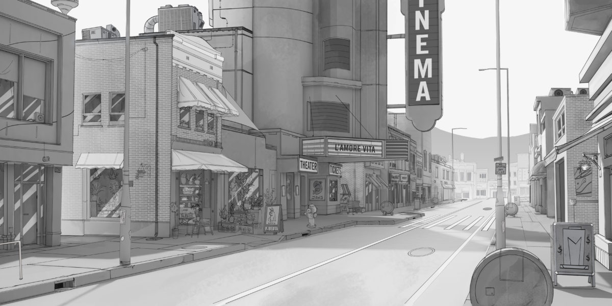 Main Street - Production Drawing