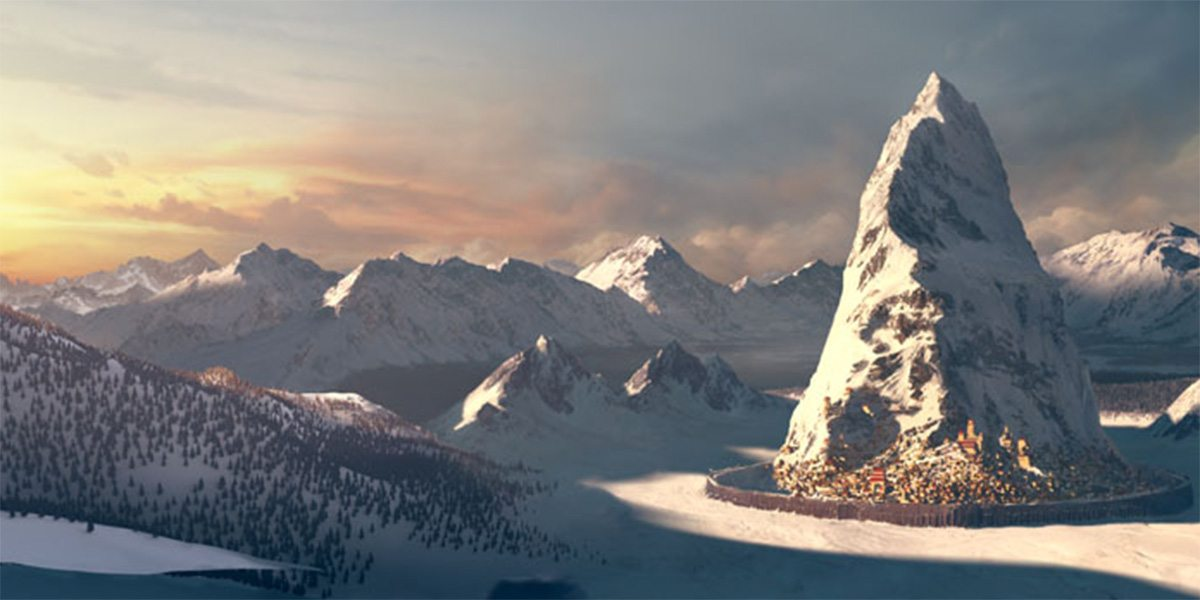 Matte Painting Mountain
