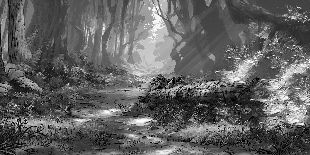 SKETCH - COUNTRYSIDE