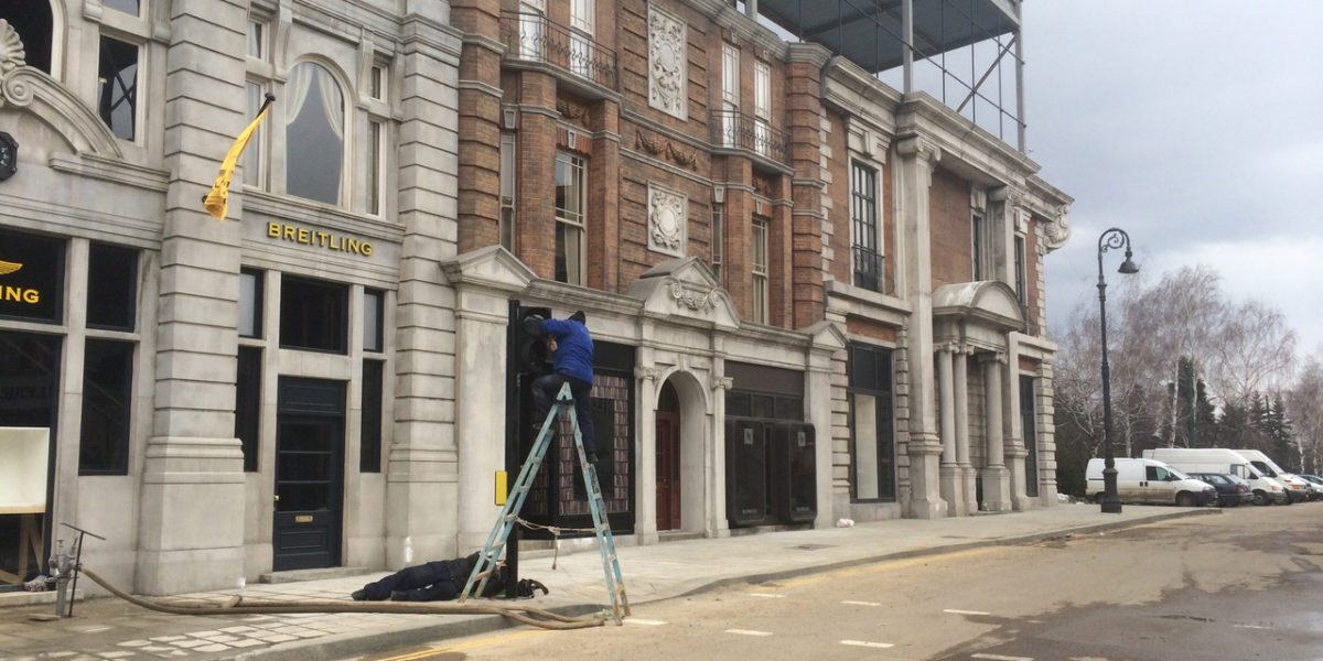 Set Still, Building London Streets
