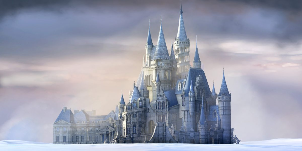 The Beast's Castle Winter Concept