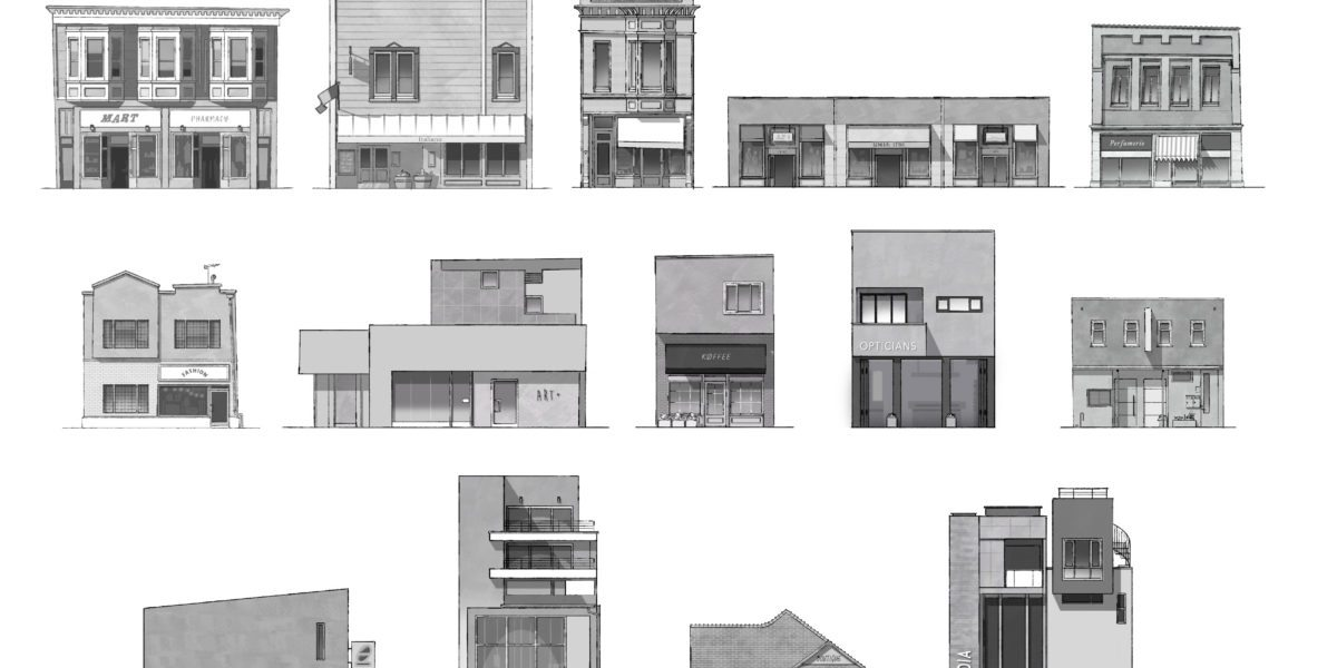 Main Street Shops - Production Drawings