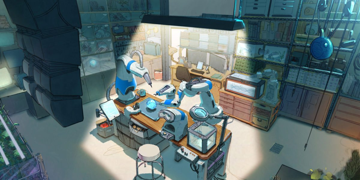 Pam's Workspace Interior - Concept